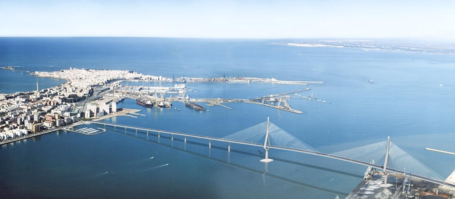Cfcsl puente sobre la bah a de c diz c diz espa a 2015 for Oficinas bankia cadiz