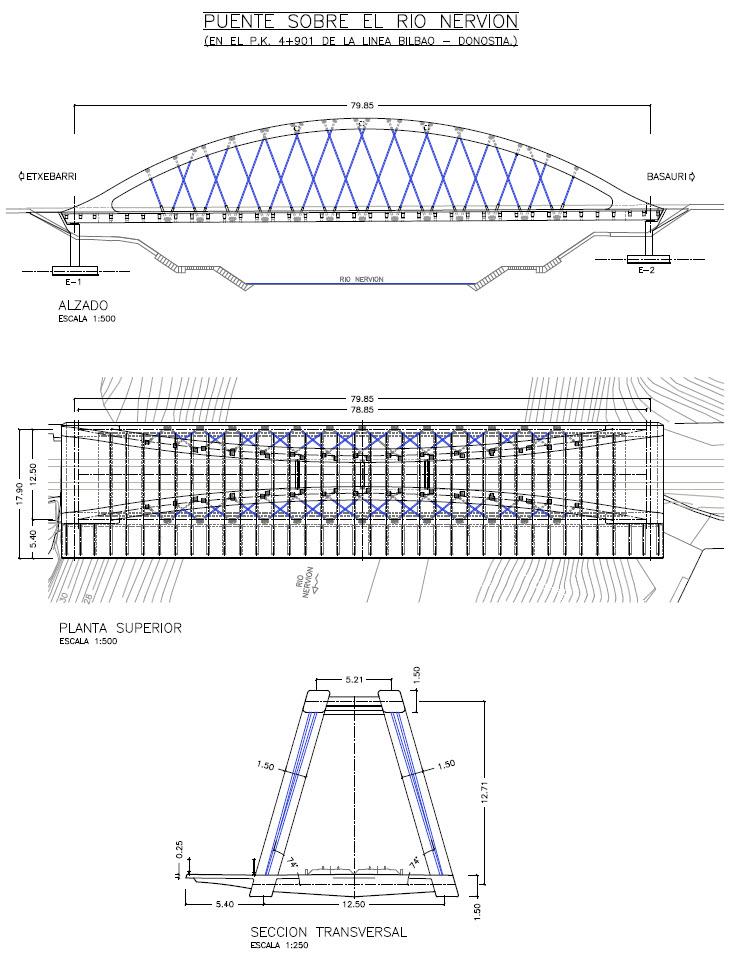 Cfcsl puente sobre el r o nervi n de la l nea bilbao for Salida de la oficina internacional de origen aliexpress