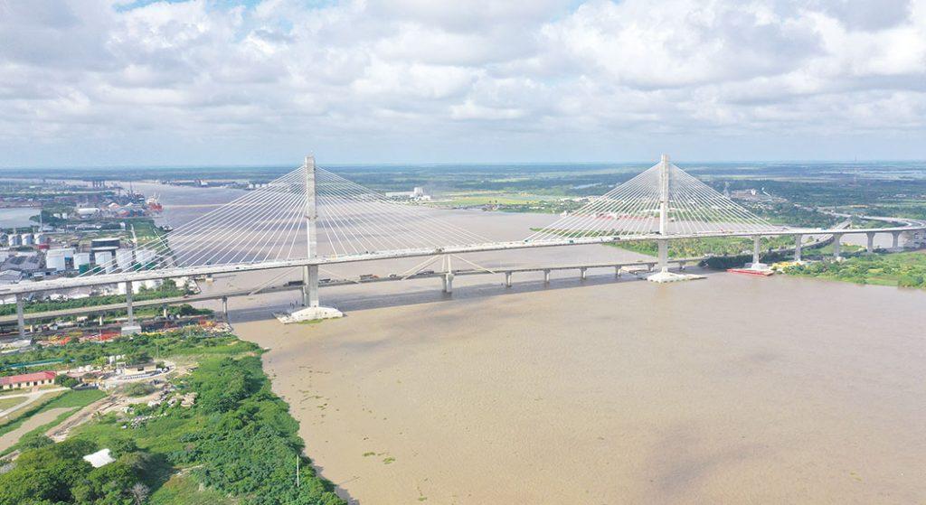 Nuevo Puente Pumarejo. Barranquilla. Colombia.